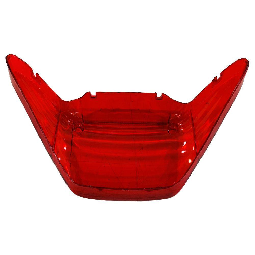 Lente Vermelha P/ Lanterna Traseira da Yamaha Fazer de 2006 a 2010