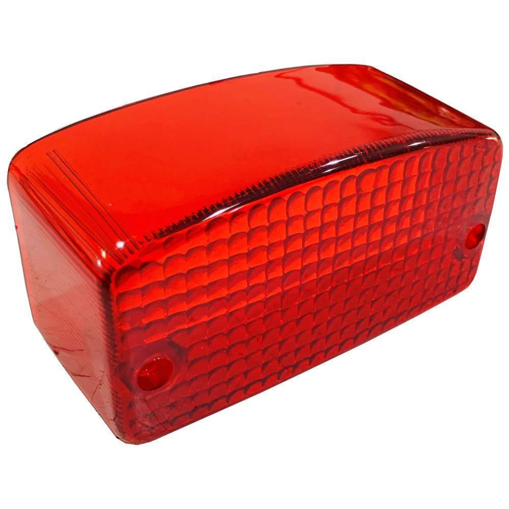Lente Vermelha P/ Lanterna Traseira Honda CG Today XL250 Titan 1999