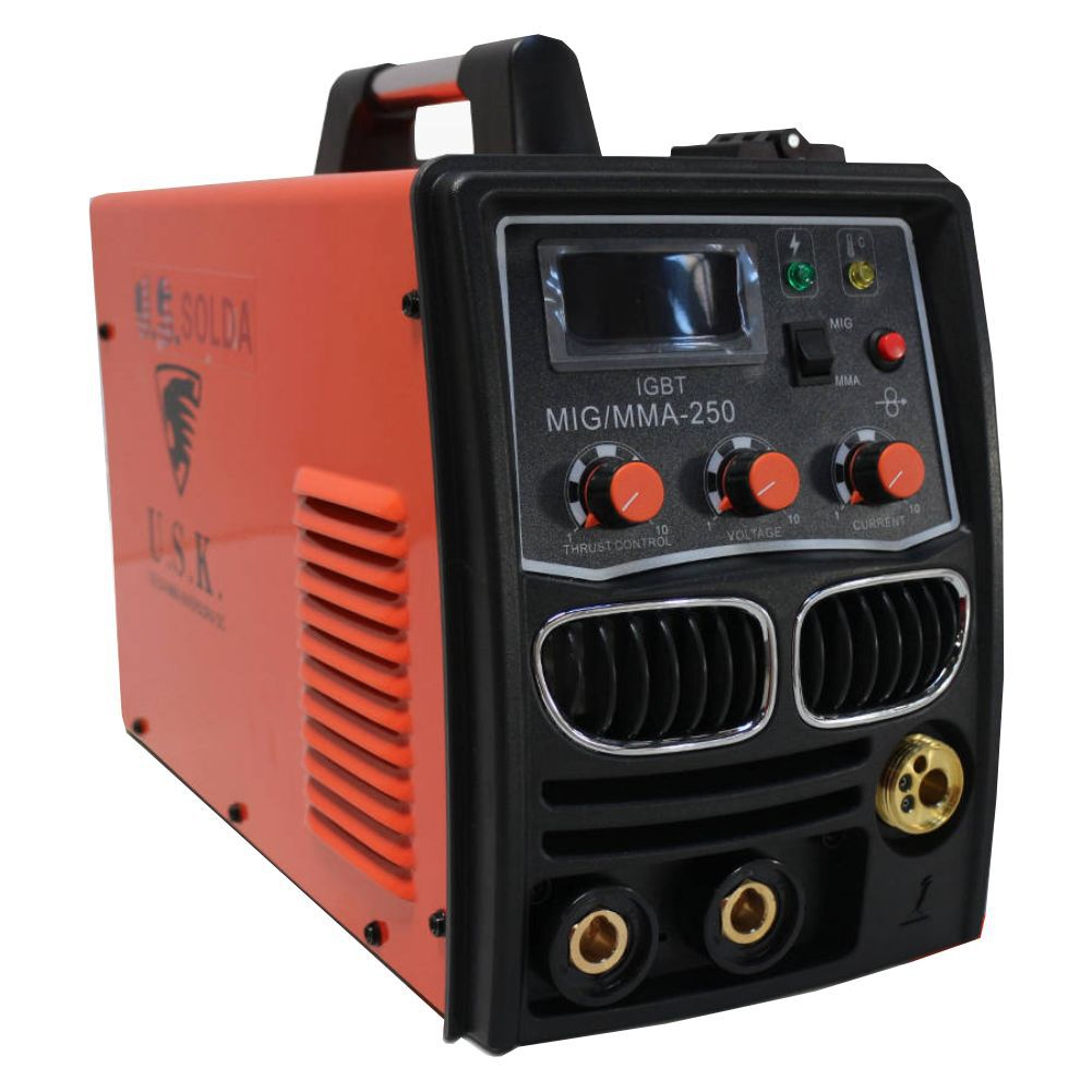 Maquina De Solda Multiprocesso MMA MIG 250 220v USK