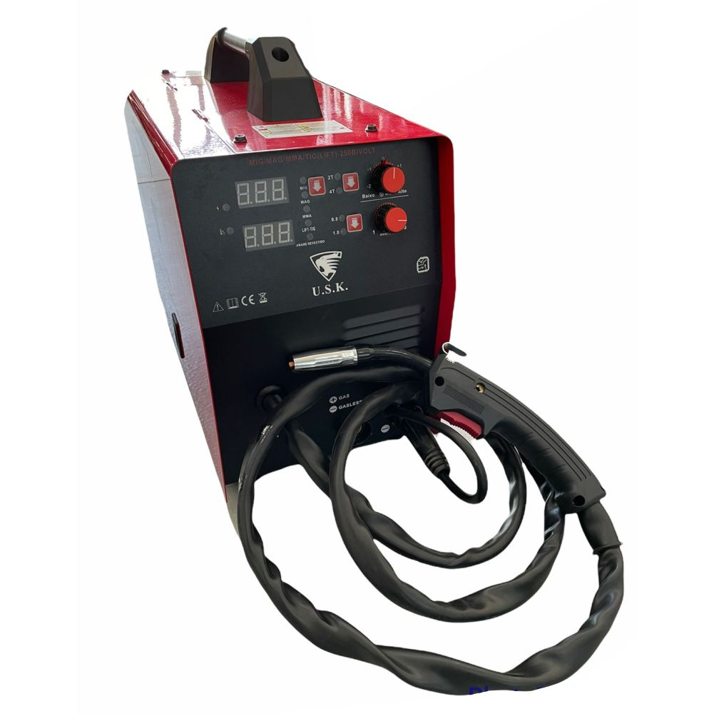 Maquina De Solda Multiprocesso MMA MIG TIG LIFT 250 220v USK-LIFT250B