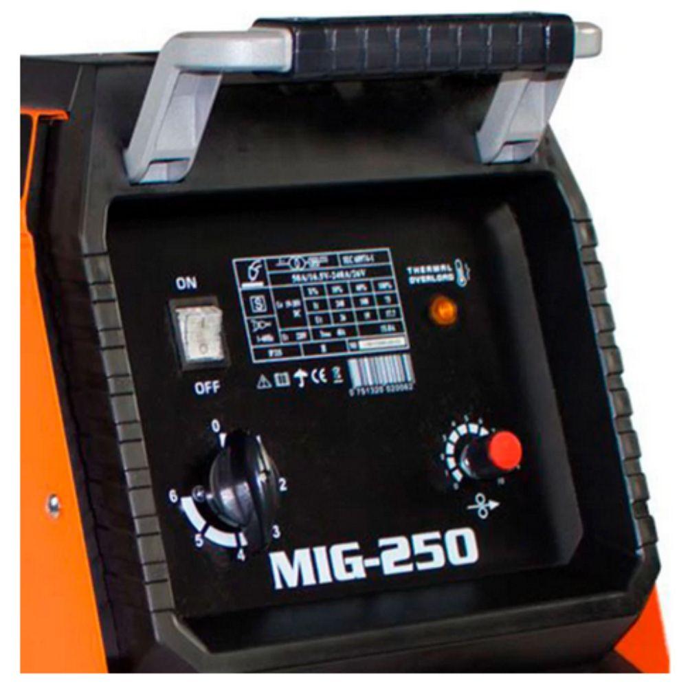 Maquina Solda MIG/MAG 250A Monofásico - SMARTER-MG-250