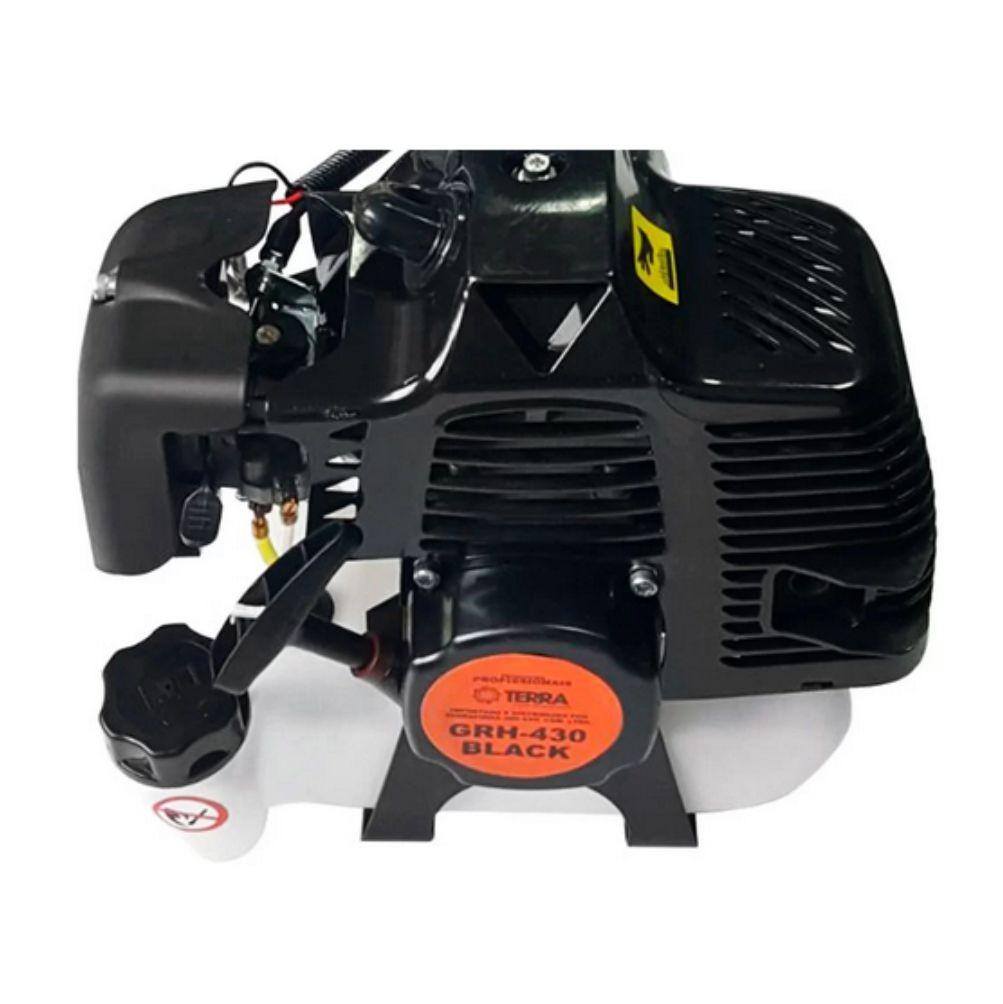 Roçadeira A Gasolina 2 Tempos 43cc Terra Black GRH-430 705486B