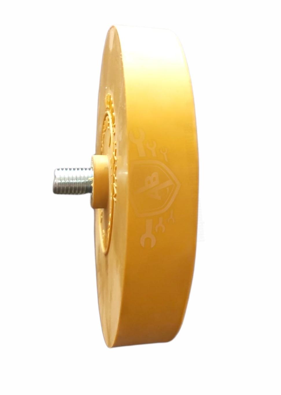 Roda Disco Removedor de Adesivos com Haste 1/4 Pol. - INDASA-ERASER-23432-7