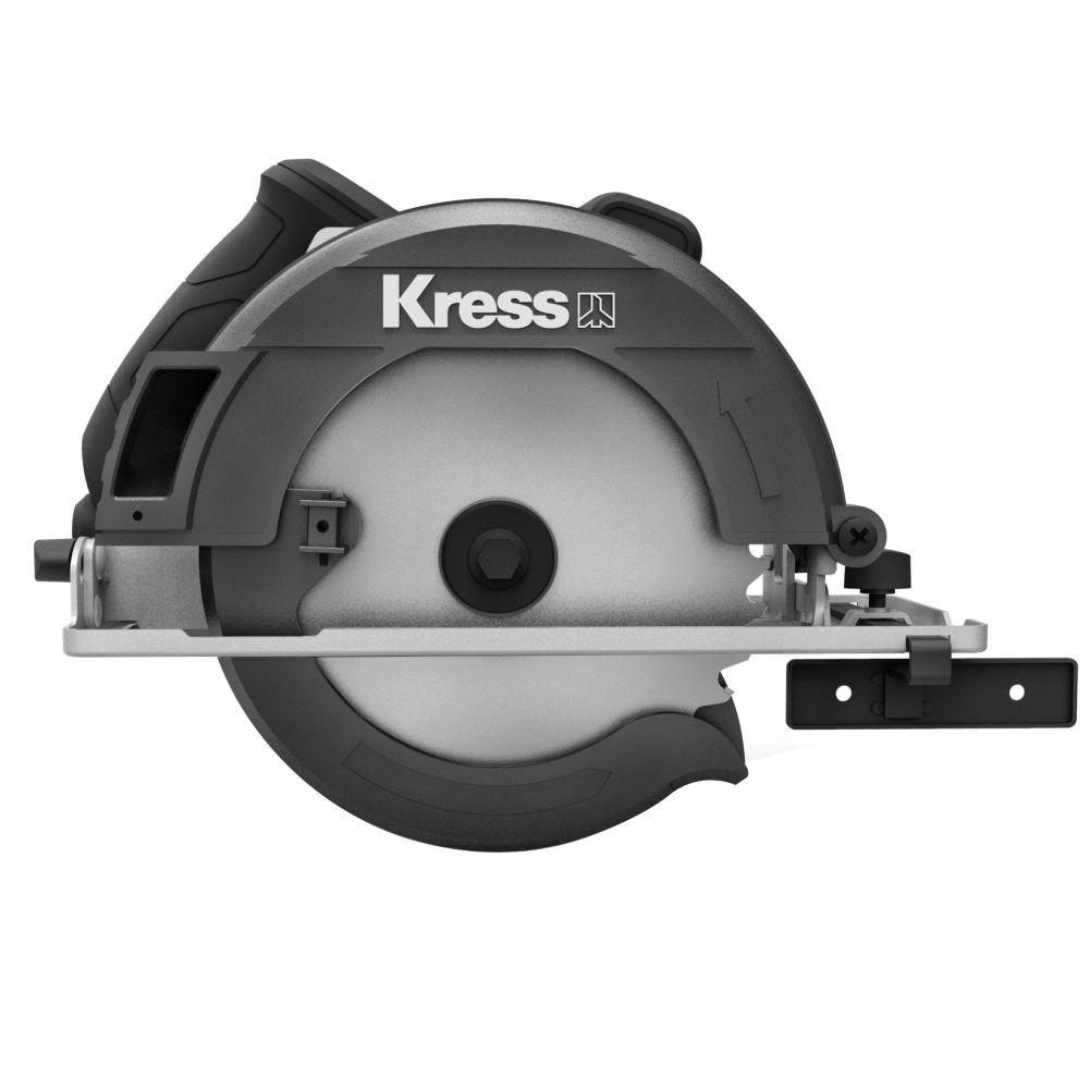 Serra Circular eletrica Profissional 1400W 185mm KU420 Kress 220V
