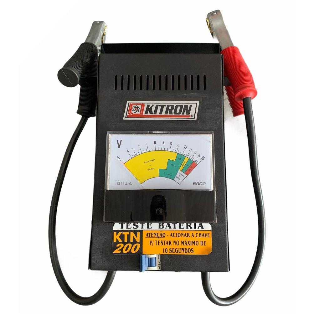 Teste de Bateria e Sistema de Carga 16V - KITRON-400007