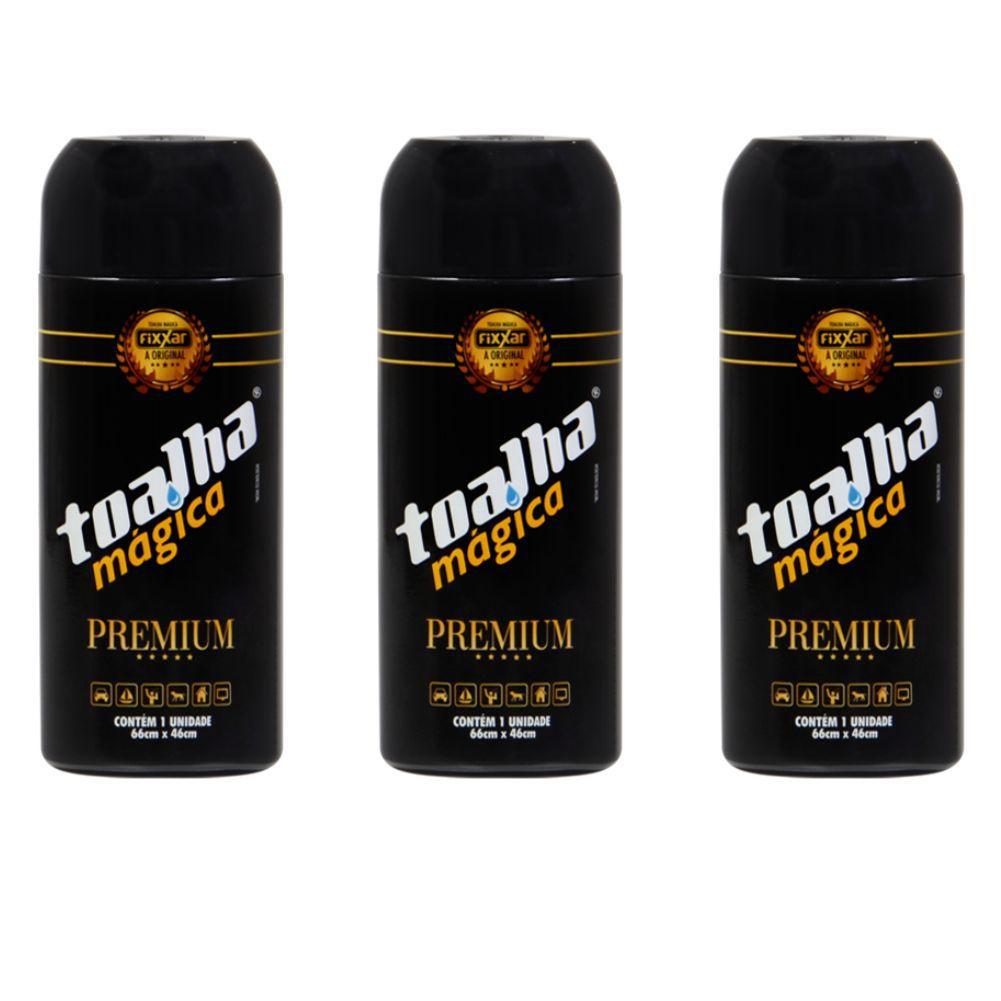 Toalha Magica Premium Fixxar Original C/ 3 Unidades