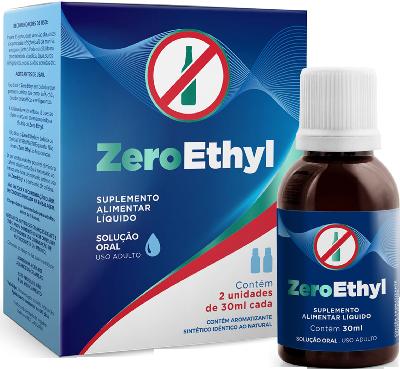 Pague 3 e Leve 6 ZeroEthyl para parar de beber - Anti Alcool