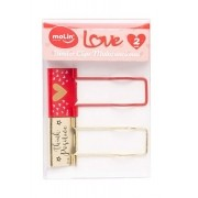 Binder Clips Multifuncional 32mm Love - Molin