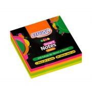 BLOCO SMART NOTES CUBE NEON 200 FLS - BRW