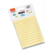 Bloco Smart Notes Line Pastel Colorido C/ Pautas - BRW