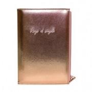 Caderno A5 Pautado C/ Estojo Be Unique Rosê