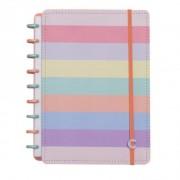 Caderno Inteligente Arco-Íris Pastel - Médio