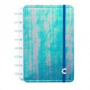 Caderno Inteligente Azul Holográfico - A5