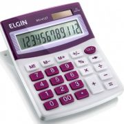Calculadora De Mesa 12 Dígitos MV 4127 Lilás - ELGIN