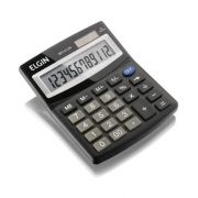 Calculadora De Mesa 12 Dígitos MV 4127 Preta - ELGIN