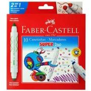 Canetinha Hidrográfica Super Duo Faber-Castell