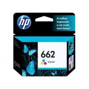 Cartucho HP 662 Colorido 2 ML