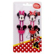 Clips Minnie Mouse 50 mm C/4  Unidades