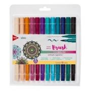 Conjunto Sketch Brush C/ 12 Cores