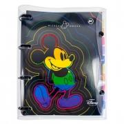 Fichário Argolado Mickey Rainbow Collection