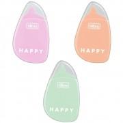 Fita Corretiva Happy  Cores Pastel - Tilibra
