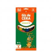 Giz De Cera Leo&Leo C/6 Cores
