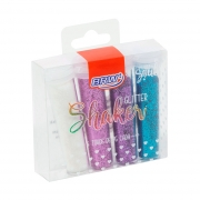 Glitter Shaker C/ 4 Tubos de 7g Cada