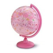 Globo Terrestre Rosa Pink Zoo Tecnodidattica