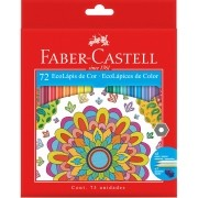 Lápis De Cor C/ 72 Cores - Faber Castell