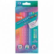 Lápis De Cor Mega Soft Tons Pastel Tris