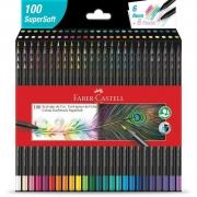 Lápis De Cor Super Soft Faber-Castell C/ 100 Cores