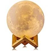Luminária Lua Cheia 3D