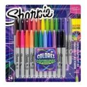 Marcador Permanente Colores Cósmicos C/24 Cores - Sharpie
