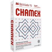 Papel Reciclado A4 Chamex Pct C/ 500 folhas 75g