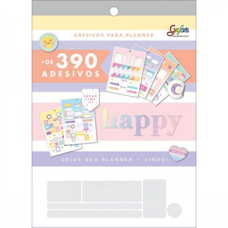 Adesivos Para Planner Happy