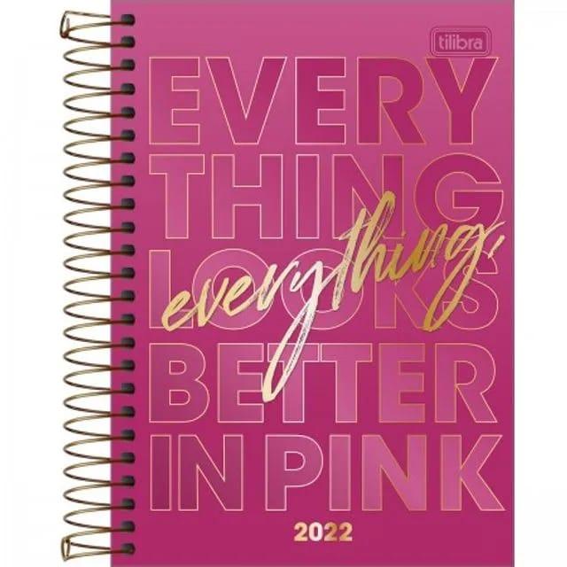 Agenda Diária Love Pink Tilibra