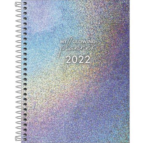Agenda Planner Espiral My Glowing 2022