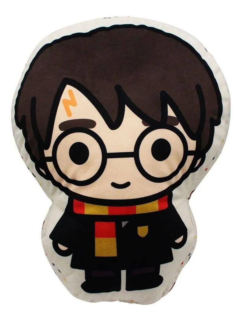 Almofada Formato Fibra Harry Potter