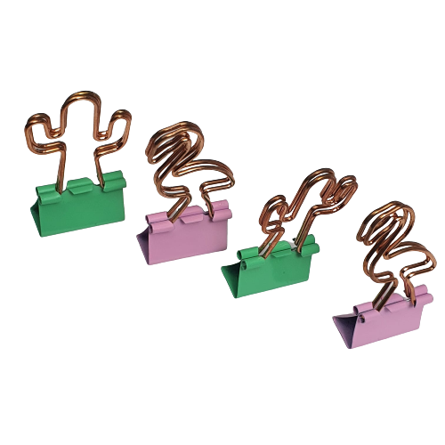 Binder Clips Nature 25mm Brw