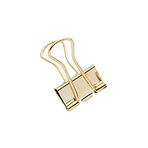 Binder Clips Ouro - Molin C/ 7 Unidades