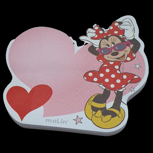 Bloco De Notas Adesivas Fashion Minnie Mouse