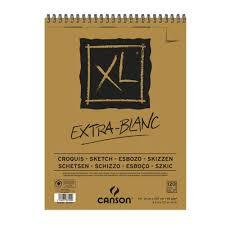 Bloco Espiral XL Extra Branco A4 90 g/m² - Canson