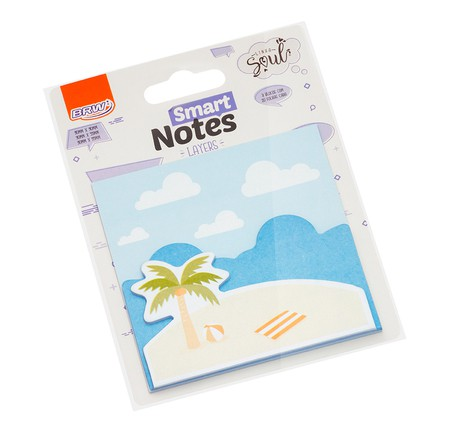 BLOCO SMART NOTES LAYERS PRAIA 60 FLS - BRW