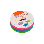 BLOCO SMART NOTES ROUND 70MM X 70MM - BRW