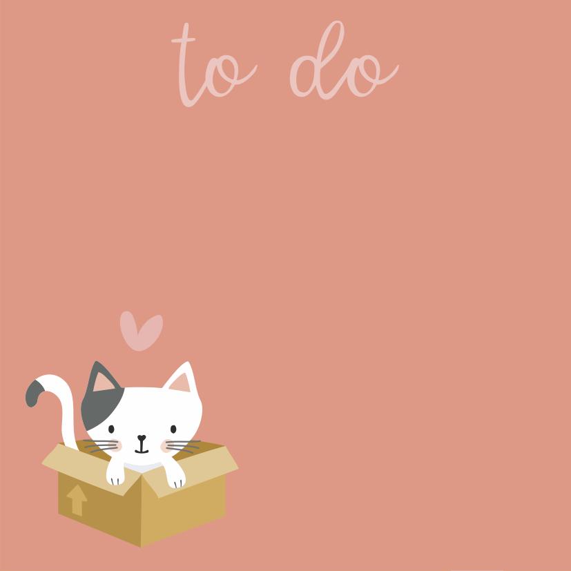 Bloquinho Tri Fofo Checklist Cats - Cartões Gigantes