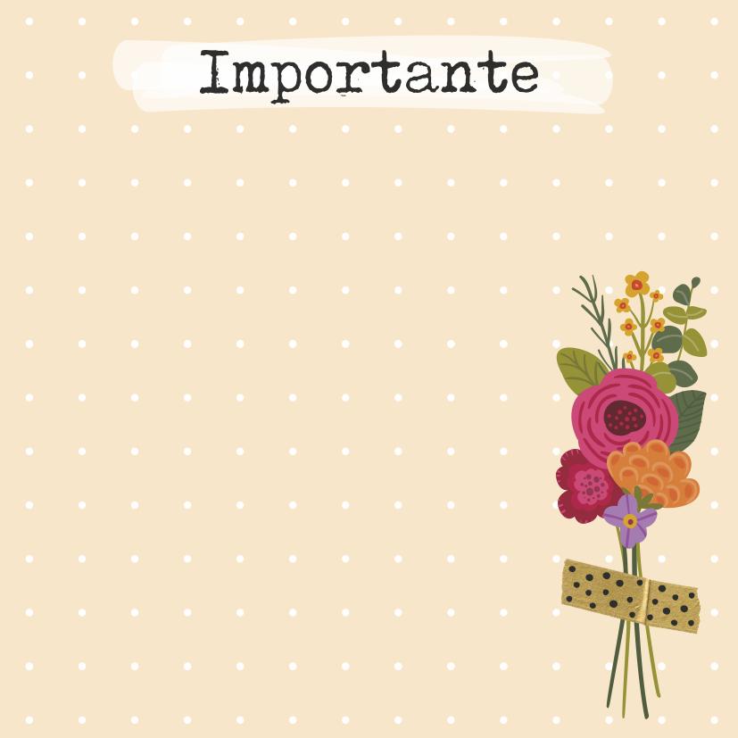 Bloquinho Tri Fofo Checklist Florir - Cartões Gigantes