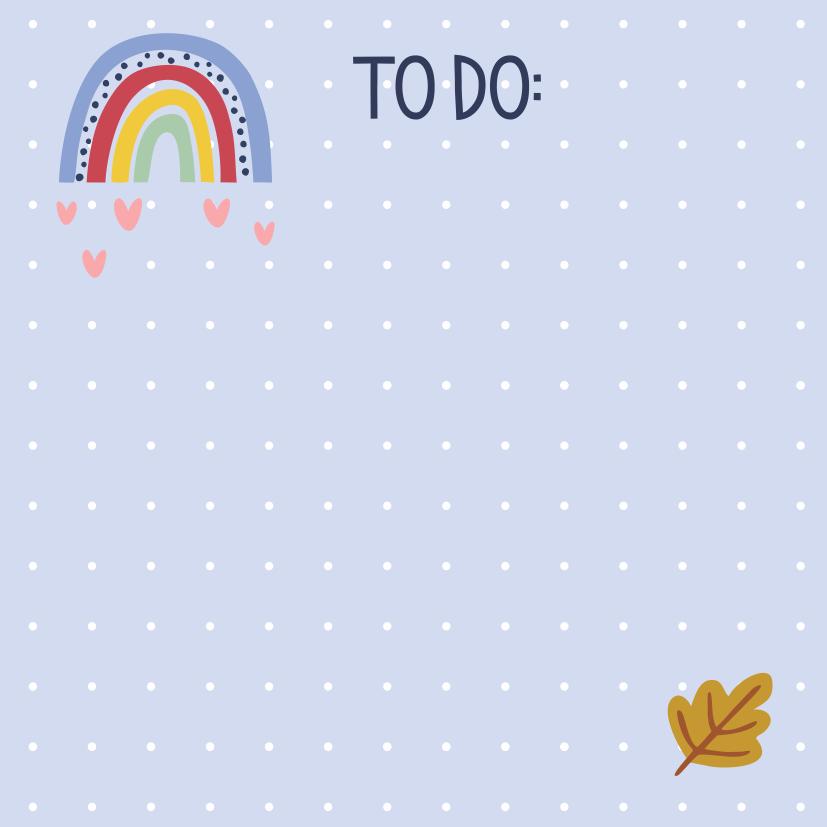 Bloquinho Tri Fofo Checklist  Happy Time - Cartões Gigantes