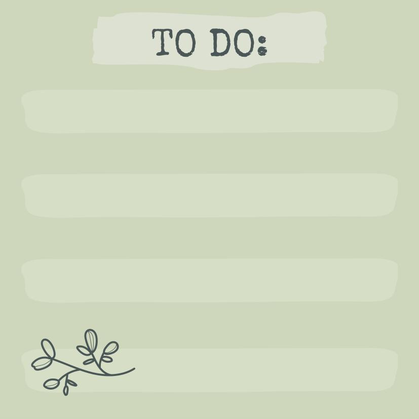 Bloquinho Tri Fofo Checklist  Terrazo - Cartões Gigantes