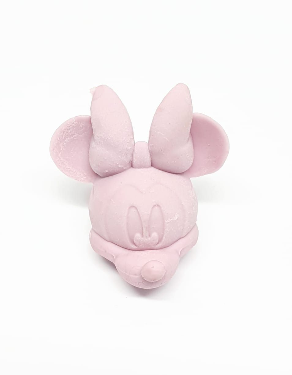 Borracha ponteira Minnie Rosa - Molin