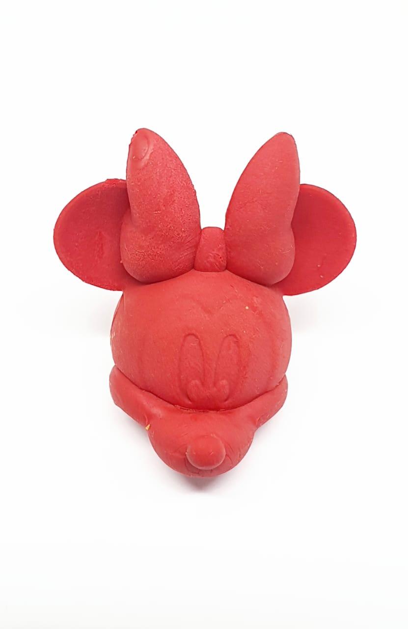 Borracha ponteira Minnie Vermelha - Molin